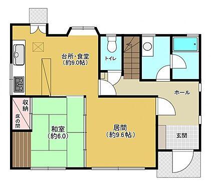 中古一戸建て-福岡市城南区茶山1丁目 1階間取り