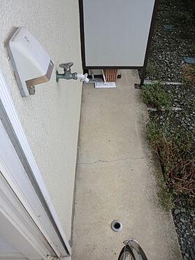 アパート-坂戸市柳町 洗濯機置場ベランダ