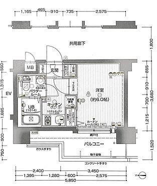 マンション(建物一部)-大阪市都島区中野町3丁目 間取り