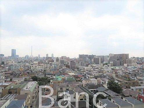 中古マンション-北区滝野川6丁目 洋室側とLDK側、両方から景色が望めます。