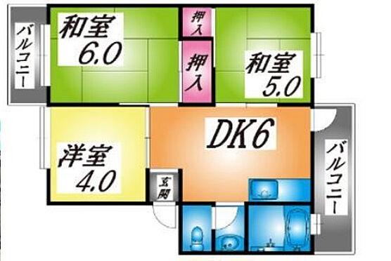 マンション(建物一部)-神戸市西区王塚台4丁目 間取り