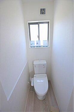 新築一戸建て-仙台市青葉区北山3丁目 トイレ
