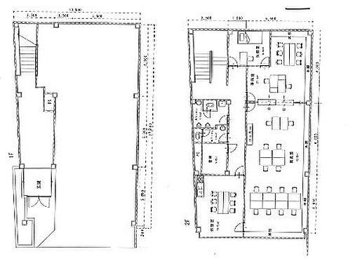 ビル(建物全部)-小山市城山町2丁目 1-2F間取図