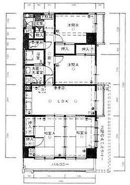 マンション(建物一部)-北九州市八幡西区岡田町 間取り