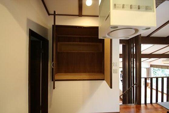 中古一戸建て-熱海市伊豆山 キッチン横には換気扇とは別に吸引フードが備え付けられています。