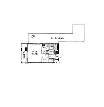 マンション(建物一部)-文京区千石4丁目 最上階角部屋でルーフバルコニーが付きます。