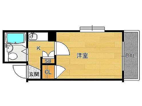 マンション(建物一部)-京都市上京区森之木町 ひとり暮らしに使い勝手のいい立地。