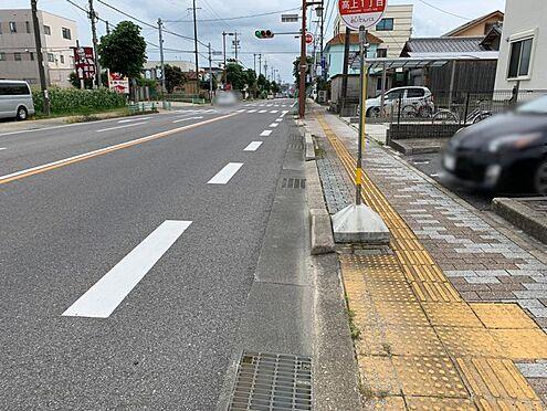 土地-豊田市高上1丁目 前面道路のお写真です。