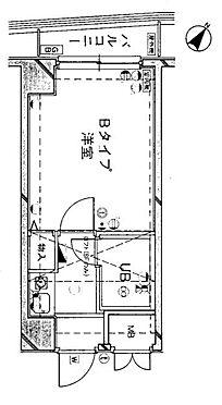 マンション(建物一部)-川崎市川崎区南町 間取り