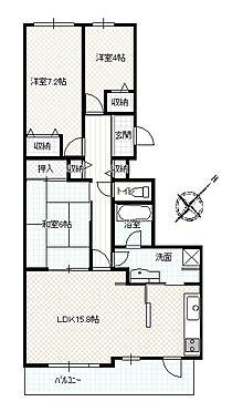 マンション(建物一部)-神戸市北区緑町8丁目 豊富な収納や家事動線が魅力