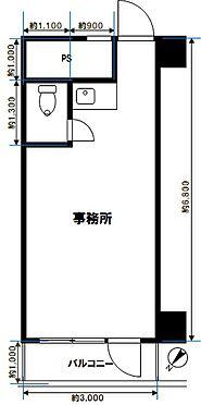 事務所(建物一部)-中央区新川2丁目 間取り