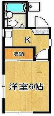 アパート-藤沢市本藤沢1丁目 間取り