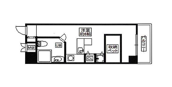 区分マンション-神戸市長田区大橋町3丁目 間取り
