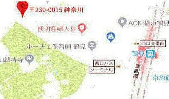 ビル(建物全部)-横浜市鶴見区寺谷1丁目 地図