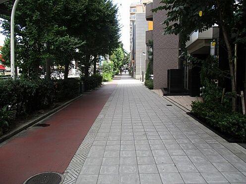 中古マンション-大阪市東成区中道2丁目 前面道路(歩道付)