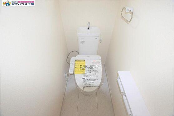 新築一戸建て-仙台市青葉区荒巻神明町 トイレ