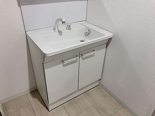 区分マンション-豊田市山之手8丁目 洗面台にはヘアケア用品や歯ブラシ等もしっかり収納していただけます。