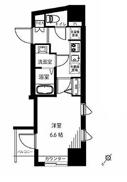 マンション(建物一部)-横浜市中区吉浜町 間取り