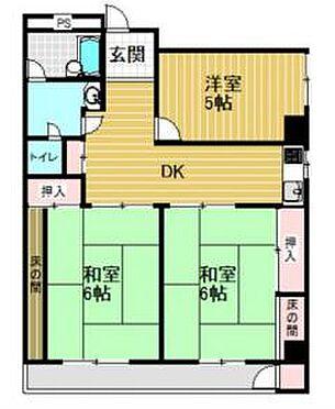 マンション(建物一部)-神戸市長田区長田町2丁目 間取り