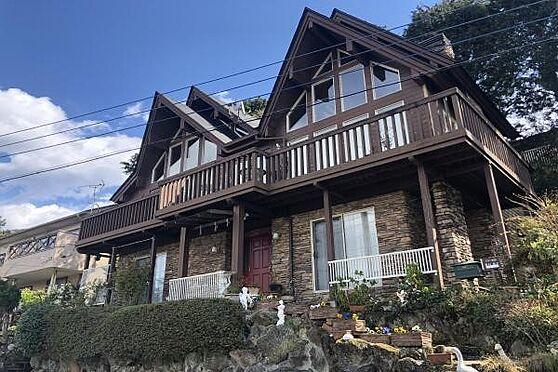 中古一戸建て-田方郡函南町畑 茶色い外壁が印象的のスウェーデンハウス