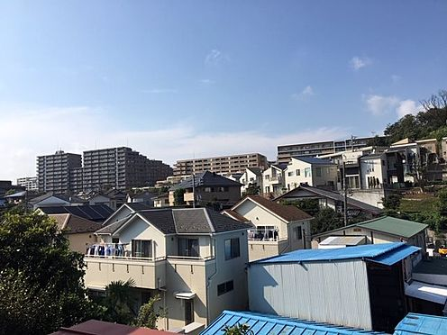 新築一戸建て-横浜市戸塚区平戸4丁目 旧建物2階北側から撮影の眺望写真