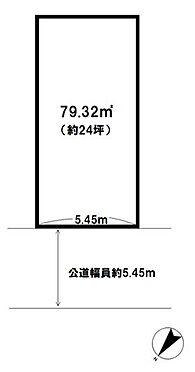土地-所沢市松葉町 区画図