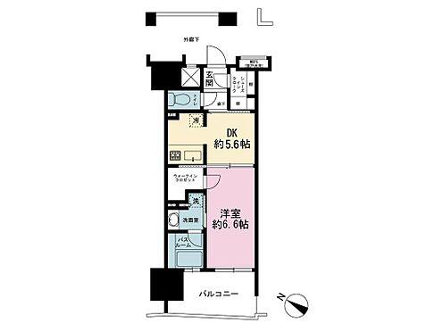 マンション(建物一部)-千代田区神田三崎町3丁目 34.5平米の1DK