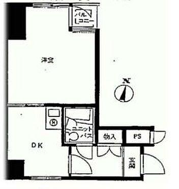 マンション(建物一部)-新宿区富久町 間取り