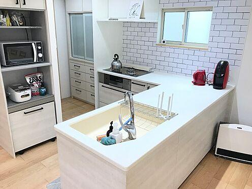 中古一戸建て-豊田市神池町2丁目 作業効率のいいL型キッチン