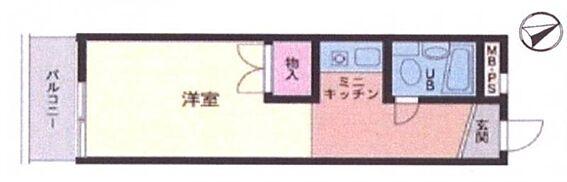 マンション(建物一部)-横浜市神奈川区斎藤分町 間取り