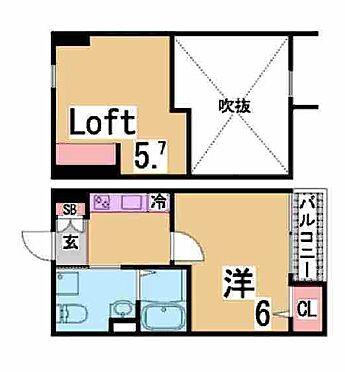 マンション(建物全部)-神戸市長田区野田町9丁目 間取り