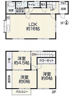 中古一戸建て-岡崎市上地2丁目 土地面積:約146.0平方メートル(約44.16坪)/建物面積:約82.80平方メートル(約25.04坪)/3LDK