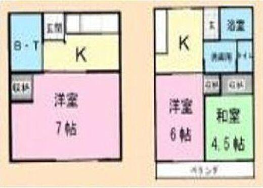 アパート-船橋市宮本7丁目 間取り
