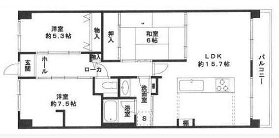 マンション(建物一部)-神戸市北区大原3丁目 ファミリー向け3LDK