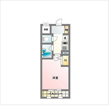 マンション(建物一部)-大阪市西区阿波座1丁目 間取り