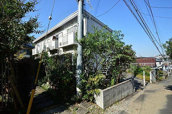 アパート-横浜市神奈川区白幡仲町 南向き・日当たり良好。