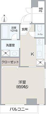 マンション(建物一部)-大阪市中央区内本町2丁目 3点セパレート・室内洗濯機置場