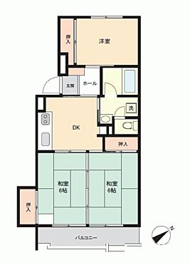 マンション(建物一部)-札幌市白石区平和通4丁目 間取り
