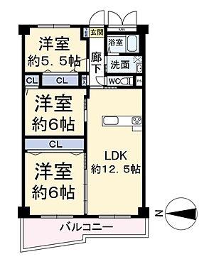 中古マンション-大阪市西区南堀江4丁目 間取り