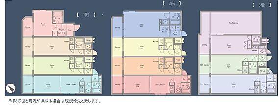 マンション(建物全部)-豊島区南長崎1丁目 間取り