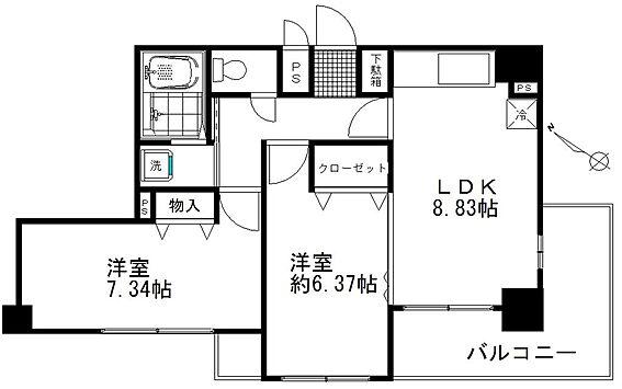 マンション(建物一部)-鴻巣市本町5丁目 間取り