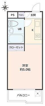 マンション(建物一部)-京都市西京区川島玉頭町 間取り