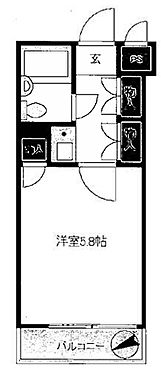 中古マンション-新宿区大久保2丁目 間取り