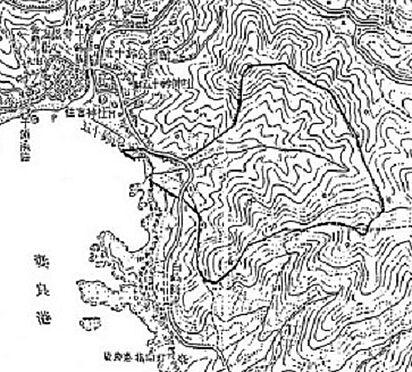 土地-賀茂郡南伊豆町妻良 地図