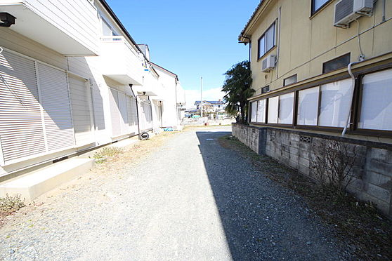アパート-甲府市上曽根町 敷地
