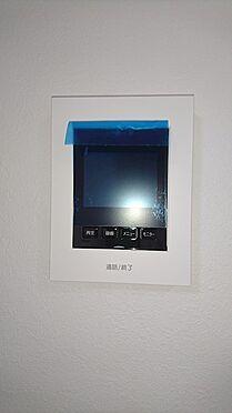 中古マンション-越谷市蒲生茜町 来訪者が分かるモニター付きインターホンです
