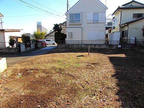 土地-牛久市牛久町 砂利舗装とトラロープなどの簡単な初期投資で駐車場に変更可能。