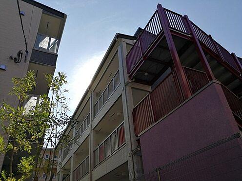アパート-葛飾区亀有4丁目 お洒落なデザインです