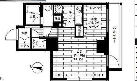 マンション(建物一部)-板橋区仲宿 間取り