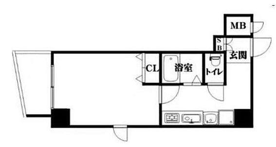 マンション(建物一部)-大阪市西区江之子島1丁目 3点セパレートの1K